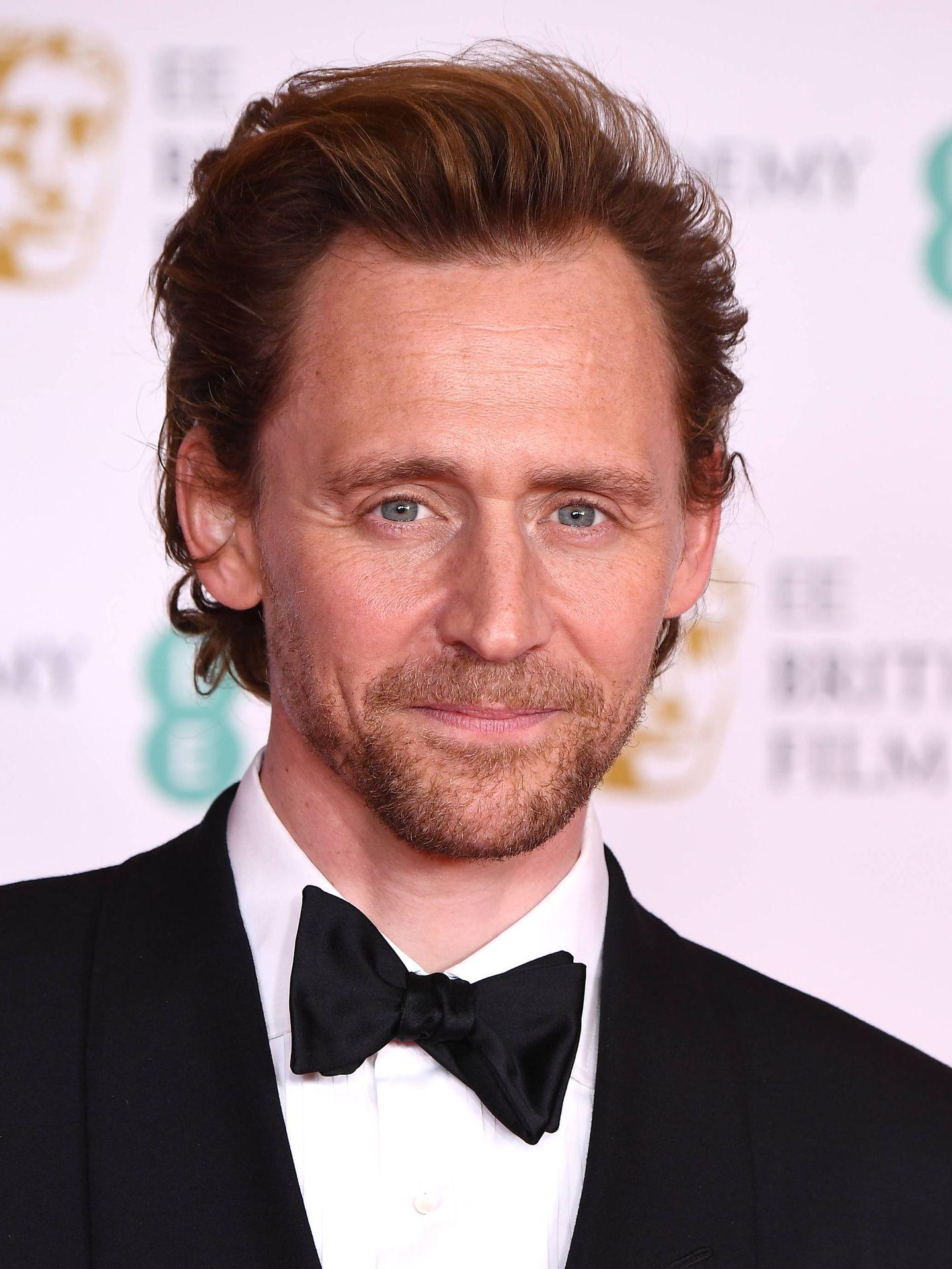 Tom Hiddleston, en los BAFTA 2021. (Getty)