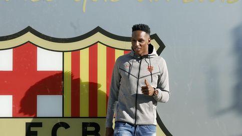 Así fue el primer día de Yerry Mina como jugador del FC Barcelona