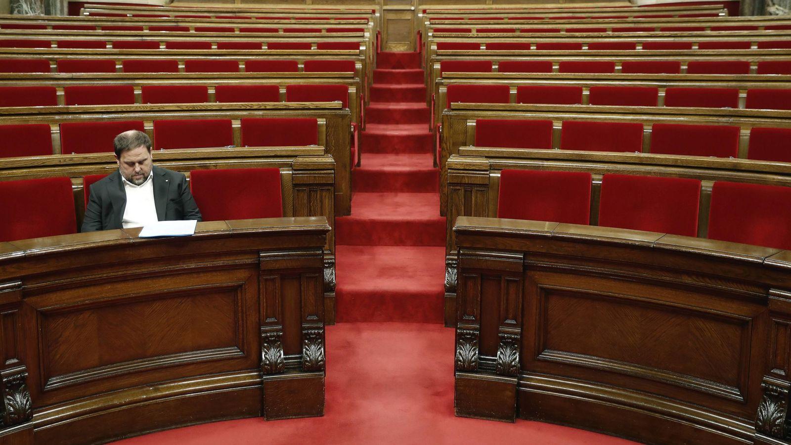 Foto: El exvicepresidente del Govern Oriol Junqueras. (EFE)
