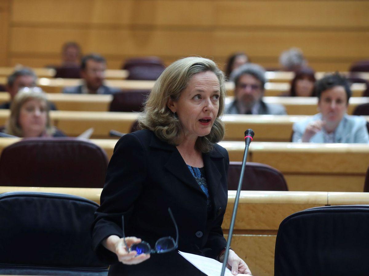Foto: Nadia Calviño (EFE)
