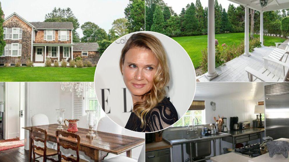 Renée Zellweger cambia de cara… y de casa