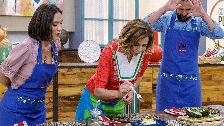Agatha Ruiz de la Prada, en el nuevo programa de Tamara. (RTVE)