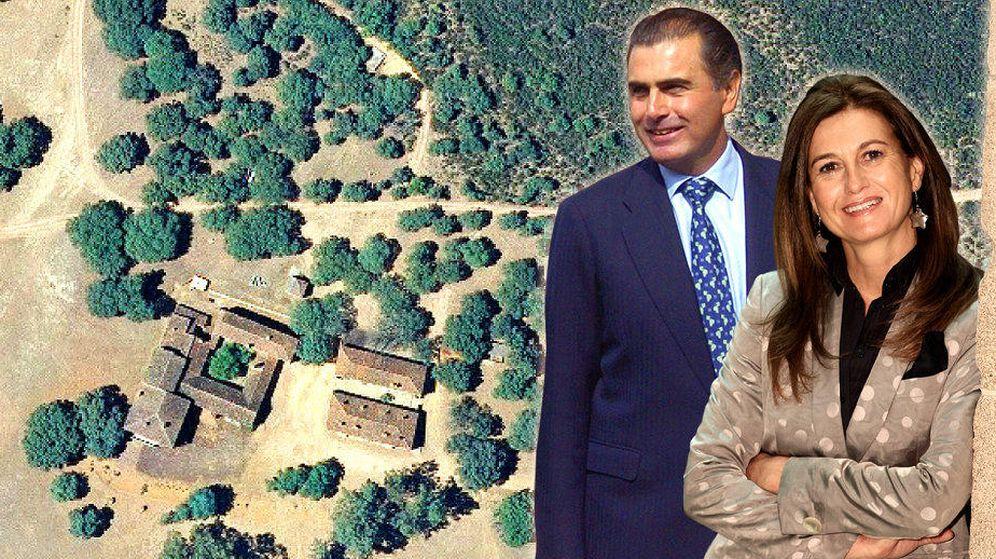 Foto: Imagen aérea de la finca (Vanitatis)