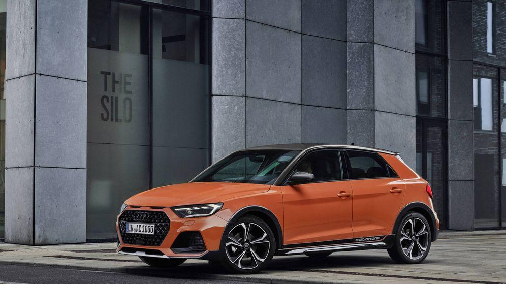 Foto: Esta es la versión de lanzamiento del nuevo todocamino urbano de Audi, el A1 Citycarver.