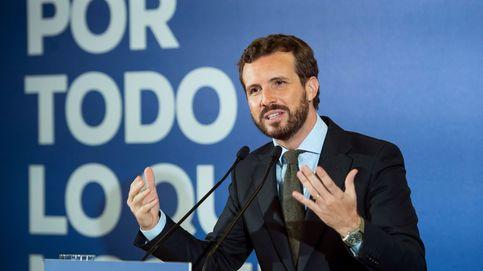 Casado calcula que el PP puede llegar a los 110 escaños y apela a España Suma