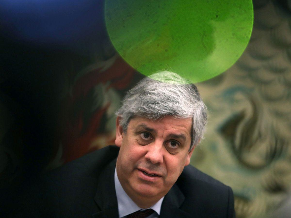 Foto: Mário Centeno, presidente del Eurogrupo. (Reuters)