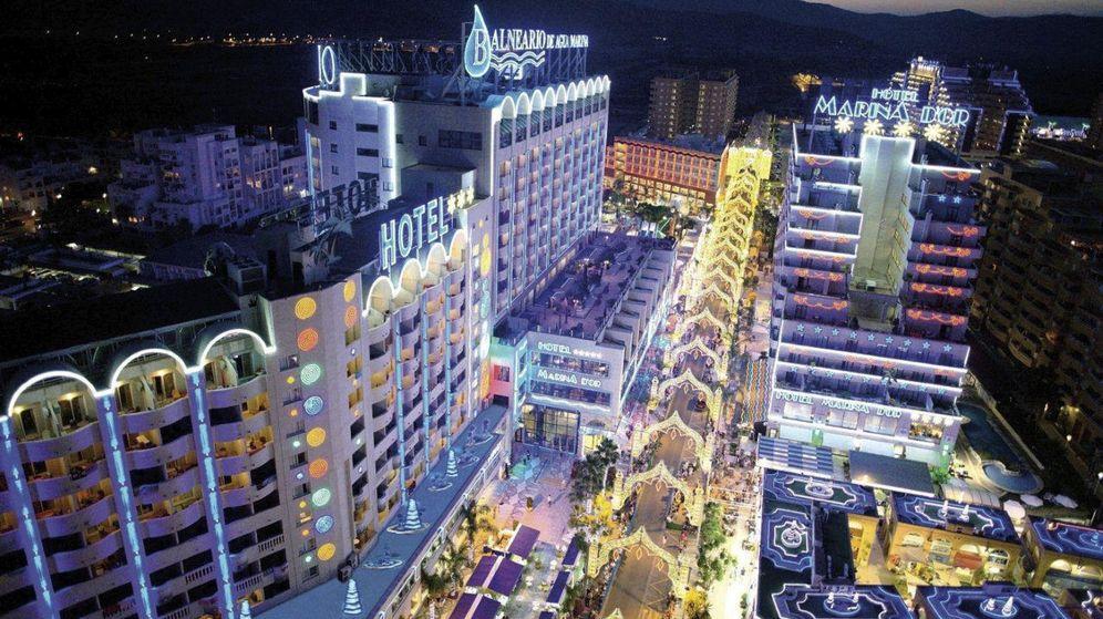 Foto: Los hoteles de Marina d'Or, el complejo turístico levantado por Jesús Ger.
