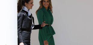 Post de Rania de Jordania, asesora de las damas Trump en su duelo con Melania