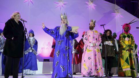 Carmena supervisa la cabalgata: vuelven los Reyes Magos tradicionales