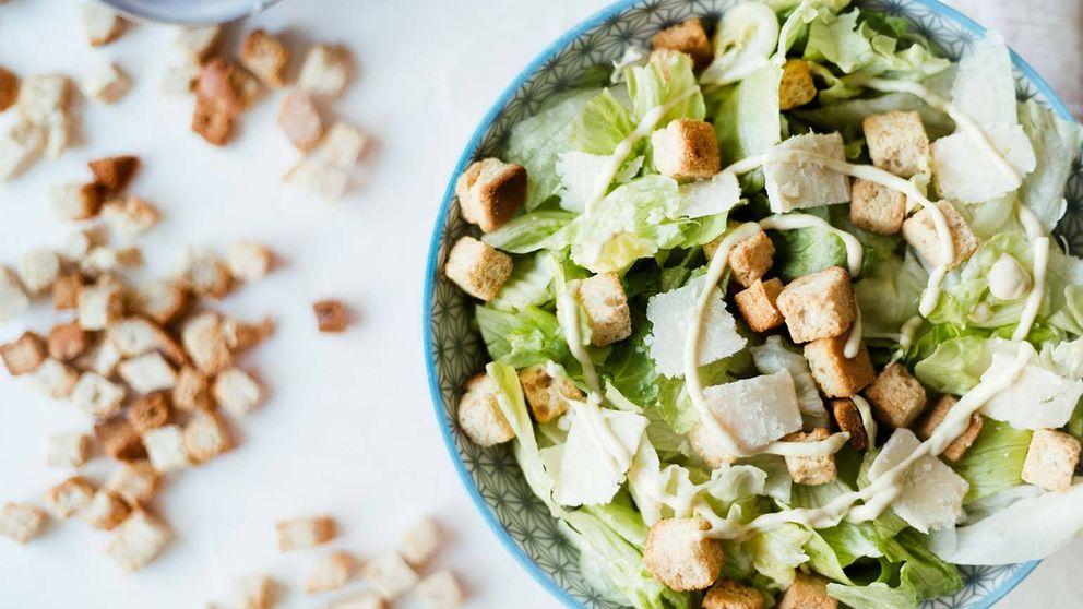 Así es la verdadera receta de la ensalada César