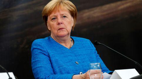 Boris Johnson se reúne con Angela Merkel, el primer escollo para su Brexit soñado
