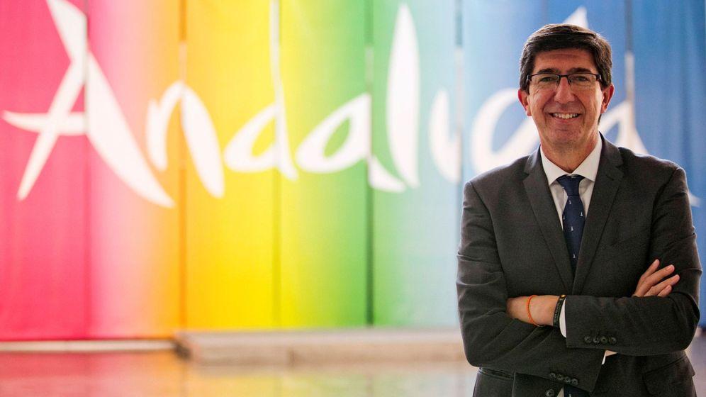 Foto: Juan Marín, vicepresidente y consejero de Turismo de la Junta de Andalucía. (EFE)