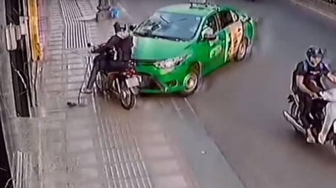 Robó una cartera, huyó en una moto y recibió el peor castigo