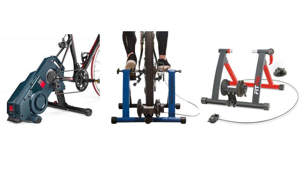 Los mejores rodillos para bicicletas para entrenar en casa