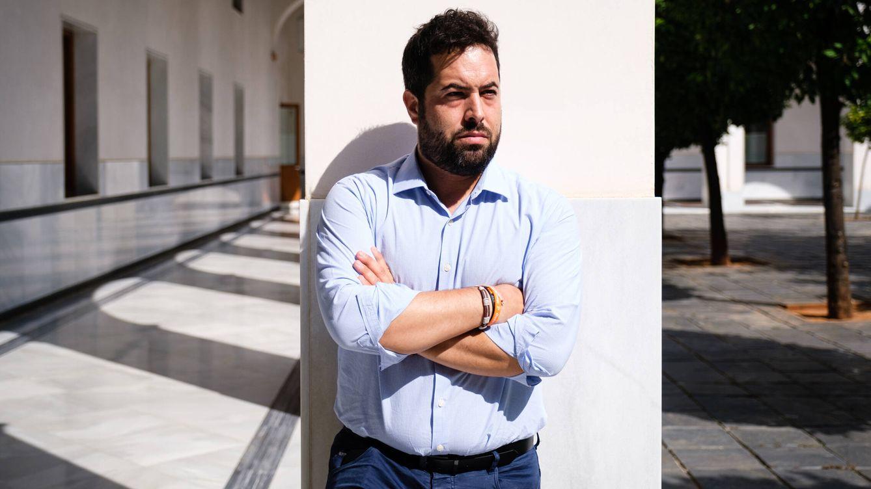 Foto: El diputado de Ciudadanos en el parlamento andaluz, Fran Carrillo. (Javier Zapata)