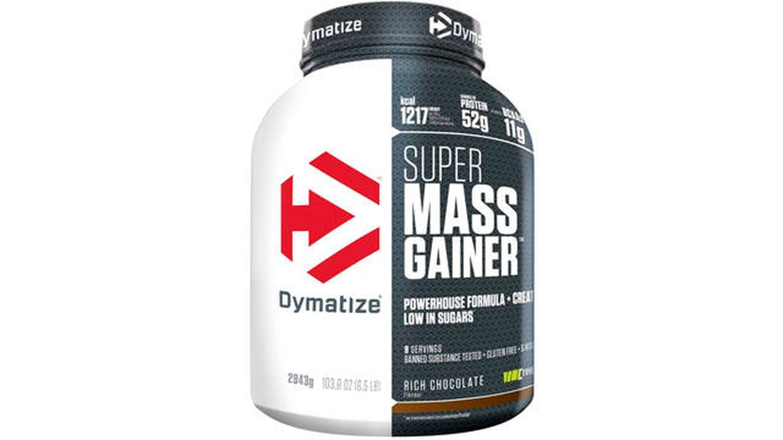 Proteína en polvo para ganar peso Dymatize.