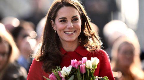 El look de Kate en su primer compromiso del año: recicla blazer y prescinde de melena