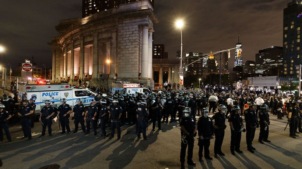 Detenidas 280 personas en Nueva York en otra noche de protestas por George Floyd
