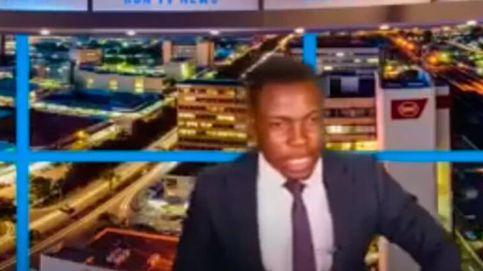 Un periodista para un informativo en directo para denunciar que la cadena no le paga