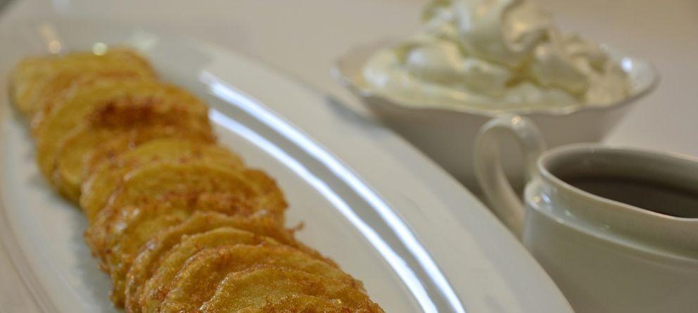 Foto: Manzanas fritas