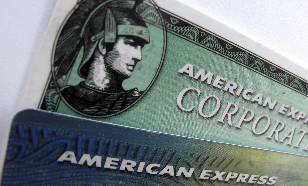 Foto: Imagen de la clásica tarjeta de American Express.