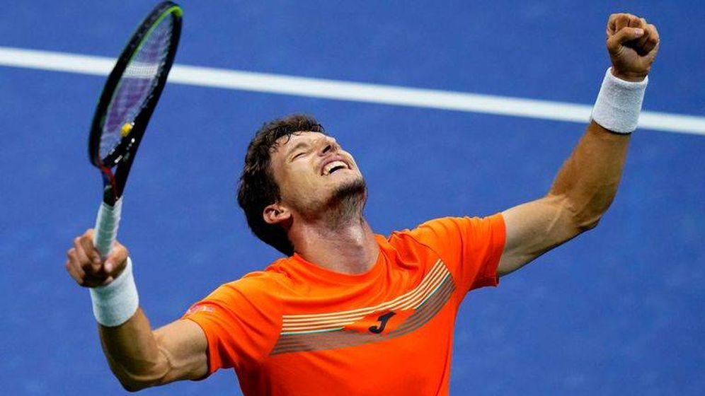 Foto: Pablo Carreño no pudo celebrar su pase a la final del US Open.