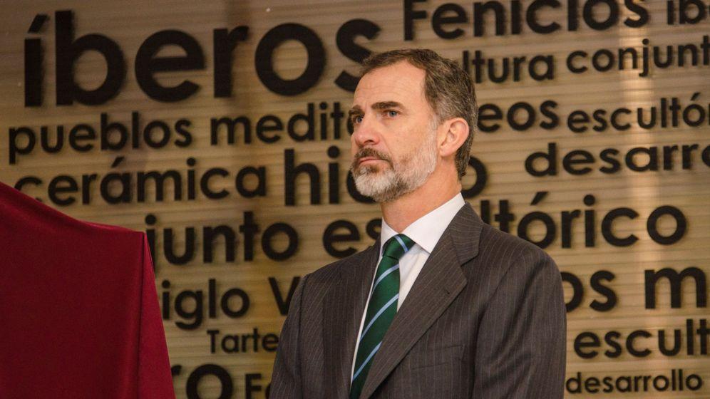 Foto: El rey Felipe V. (EFE)