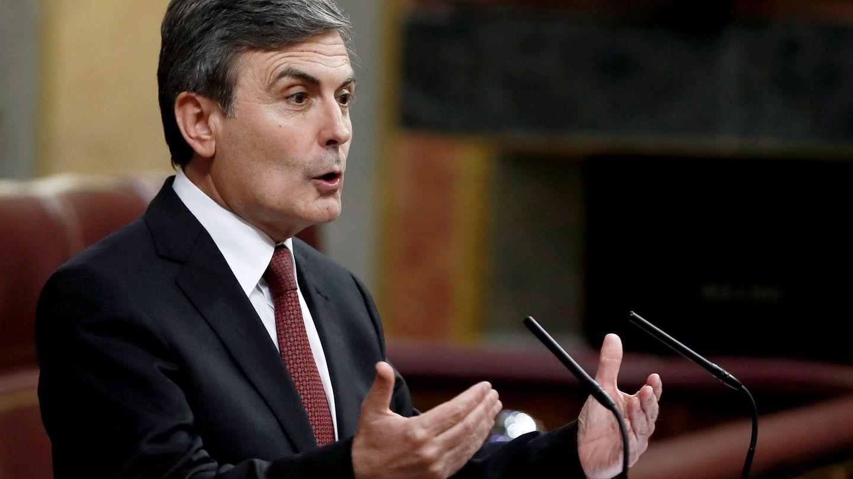 El portavoz de Hacienda del Grupo Socialista, Pedro Saura (Efe)
