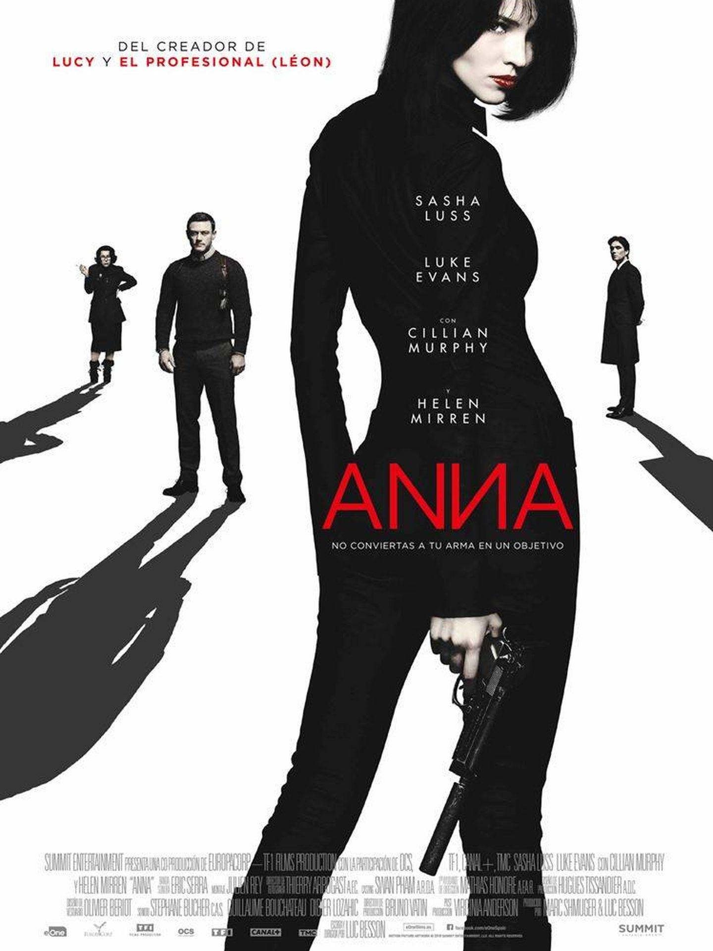 Cartel de 'Anna'.