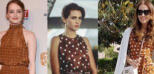 Post de Paula Echevarría se apunta a la moda de los vestidos 'Pretty Woman'