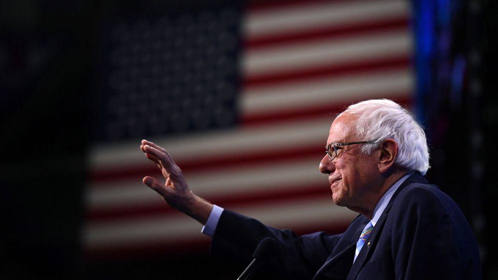 Sanders, hospitalizado tras sufrir dolores en el pecho durante un acto de campaña