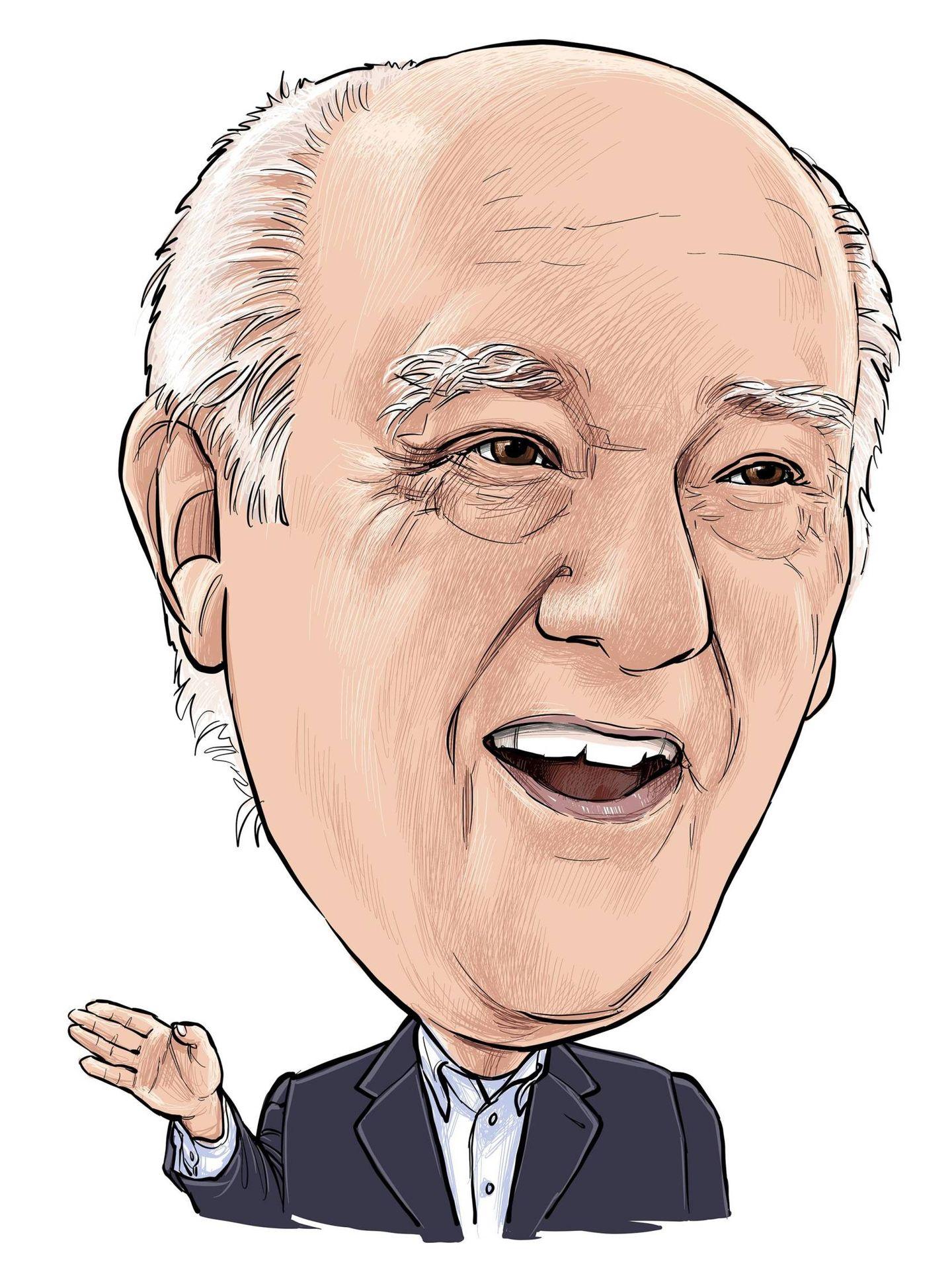 Ilustración de Amancio Ortega. (Cordon Press)