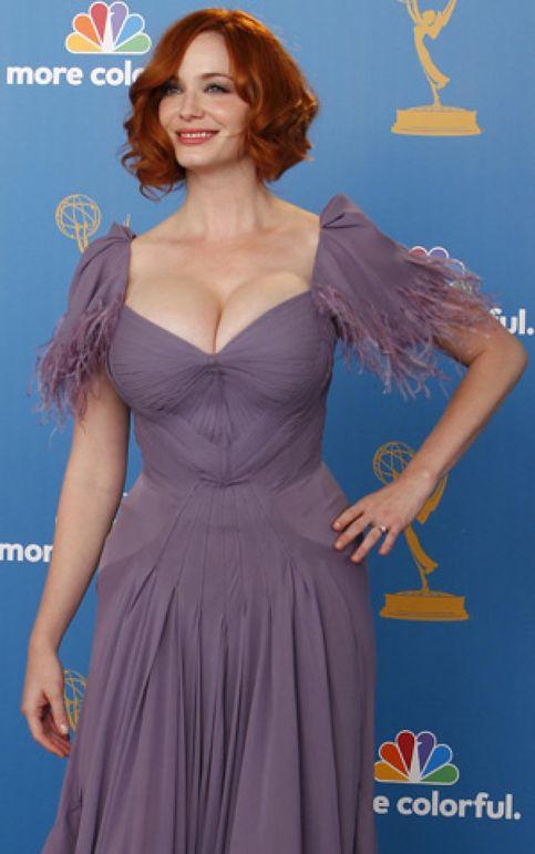 """Christina Hendricks: """"Por supuesto que mis pechos son reales"""""""