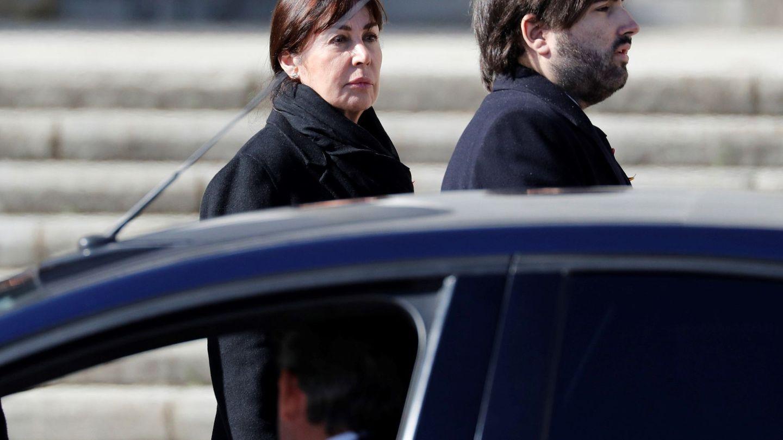 Carmen Martínez-Bordiú, con Álvaro Franco Guisasola. (EFE)