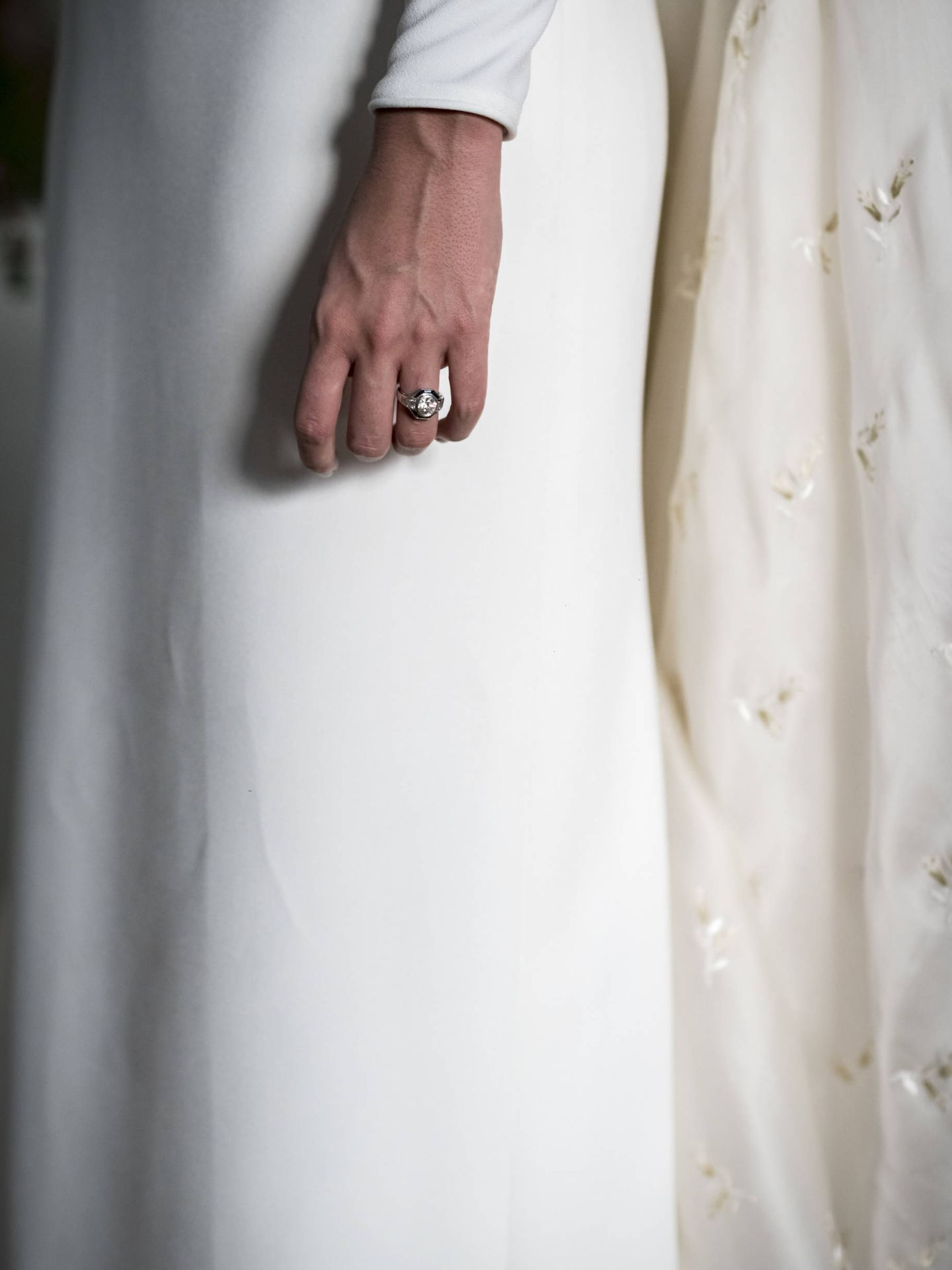 Detalle de su elegante y sofisticado vestido. (Foto: Liven Photography)