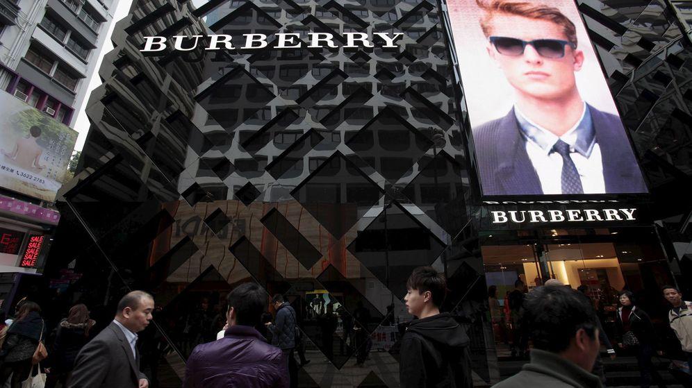 Foto: Una tienda de Burberry. (Reuters)