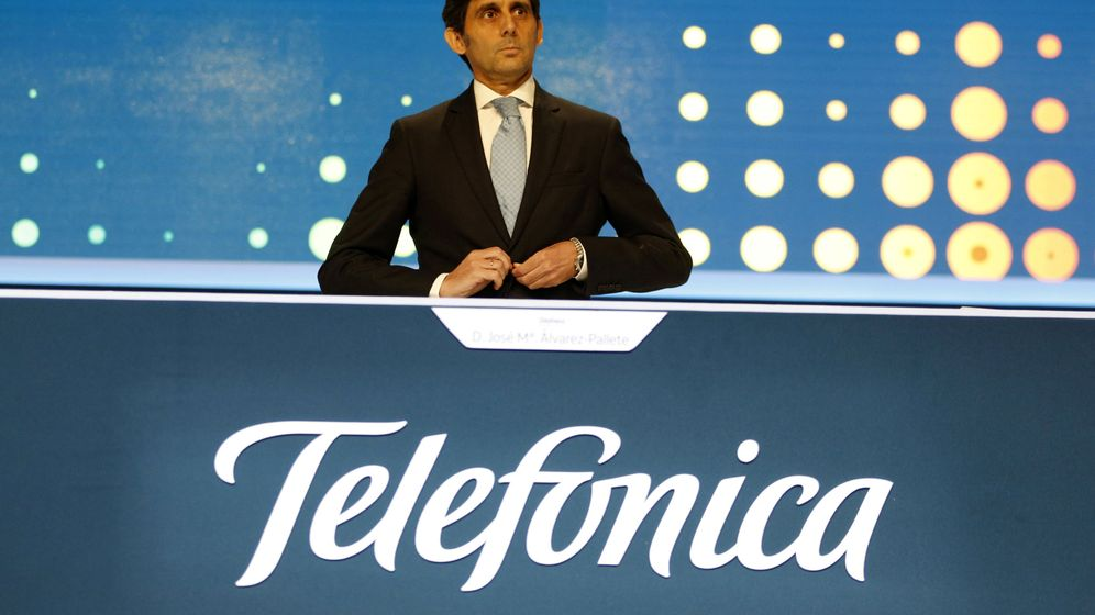 Foto: José María Álvarez-Pallete, el pasado mes de mayo. (Reuters)