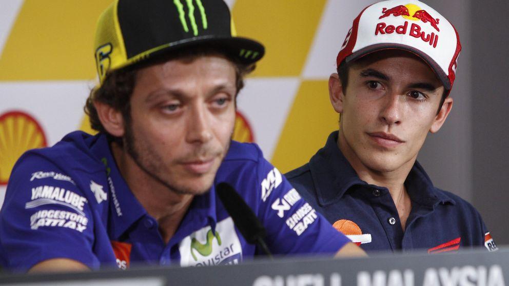 El COE le tapa la boca al CONI y también a Dorna: A Rossi le pudo la presión