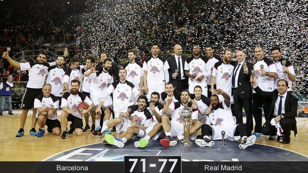 Rudy lleva al Madrid a repetir título de Copa del Rey 29 años después