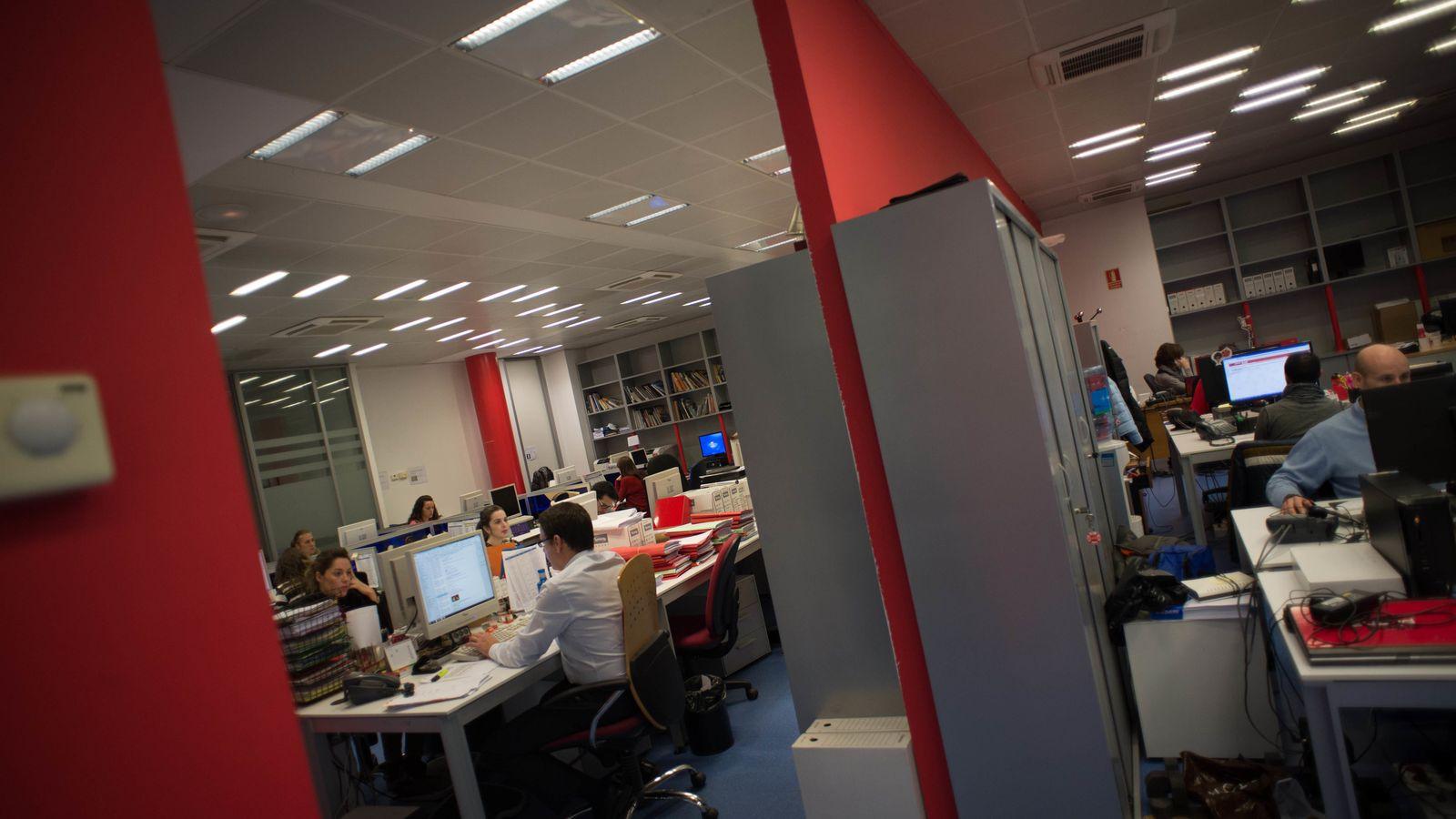 Foto: Oficinas de Pepephone. (P. López Learte)