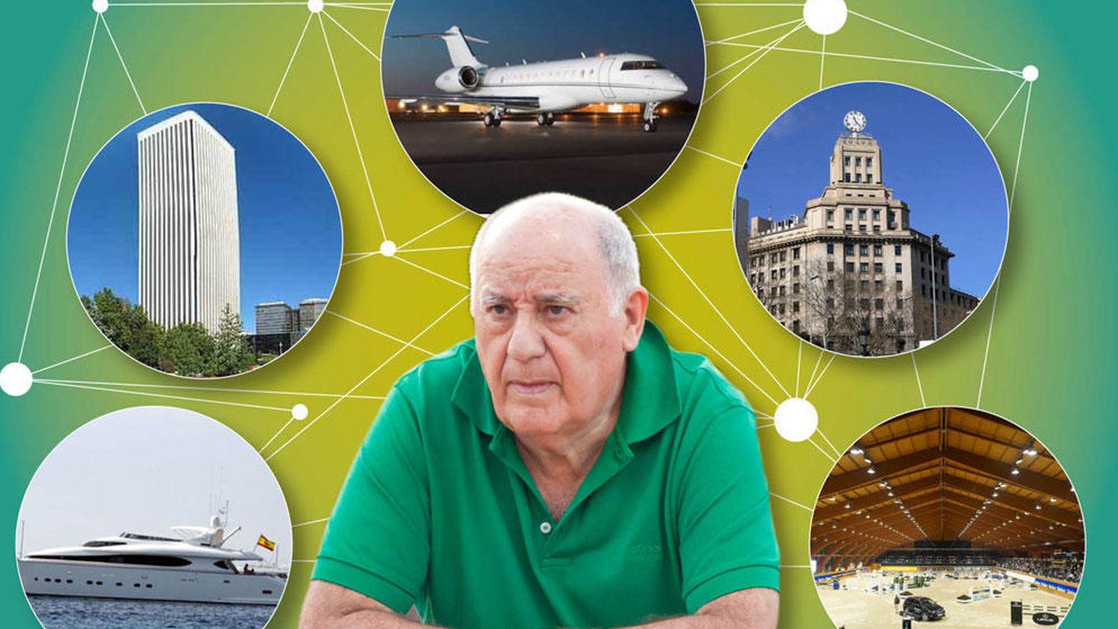Foto: Algunas de las propiedades de Amancio Ortega. (Vanitatis)
