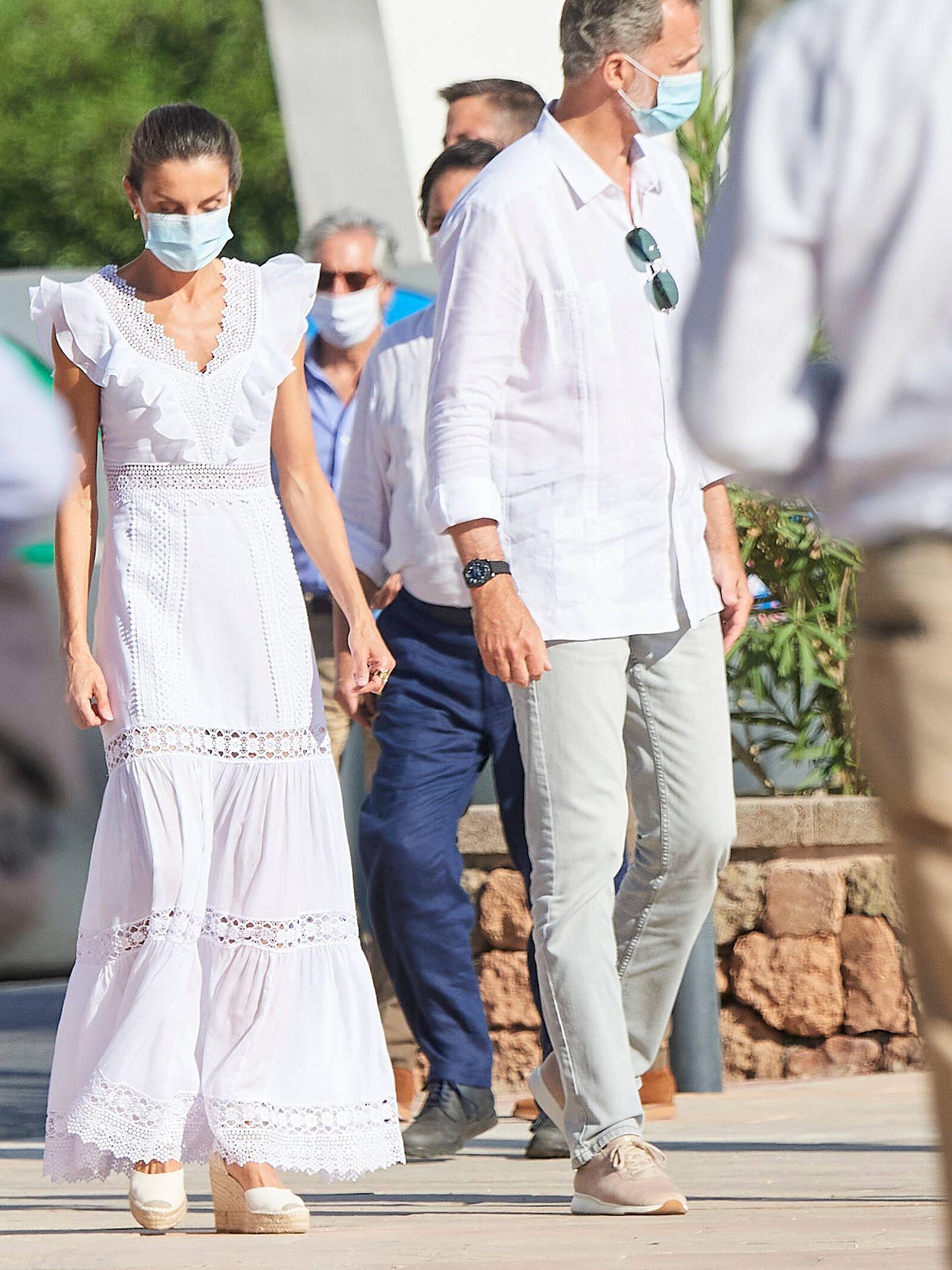 Letizia y Felipe, en 2020. (Limited Pictures)