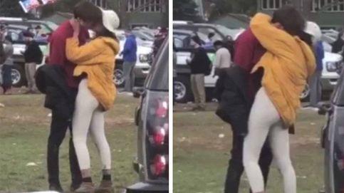 Malia Obama, 'cazada' besando a un chico y fumando en la universidad de Harvard