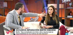 Post de Encontronazo de Avilés e Isabel Rábago por la separación de Bertín Osborne