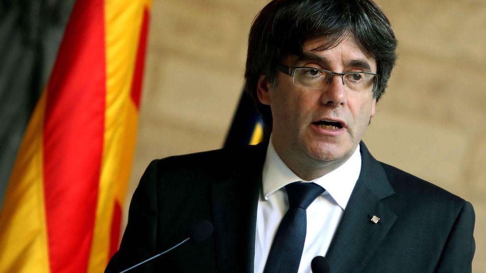 Puigdemont comparece en un intento por ganarse a la comunidad internacional