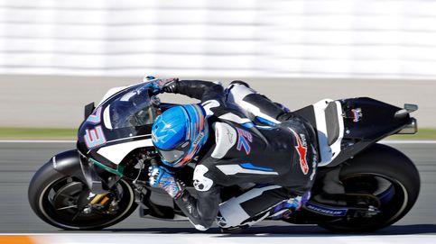 Álex Márquez prueba la Honda de MotoGP