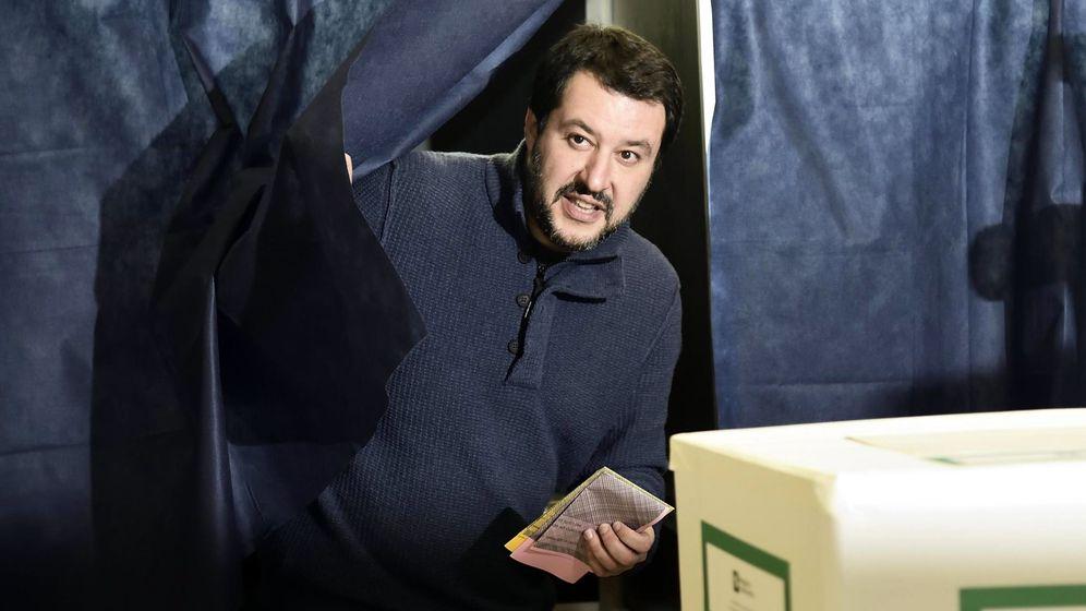 Foto: Mateo Salvini, candidato de la Liga Norte (LN) a las elecciones de Italia. (Reuters)