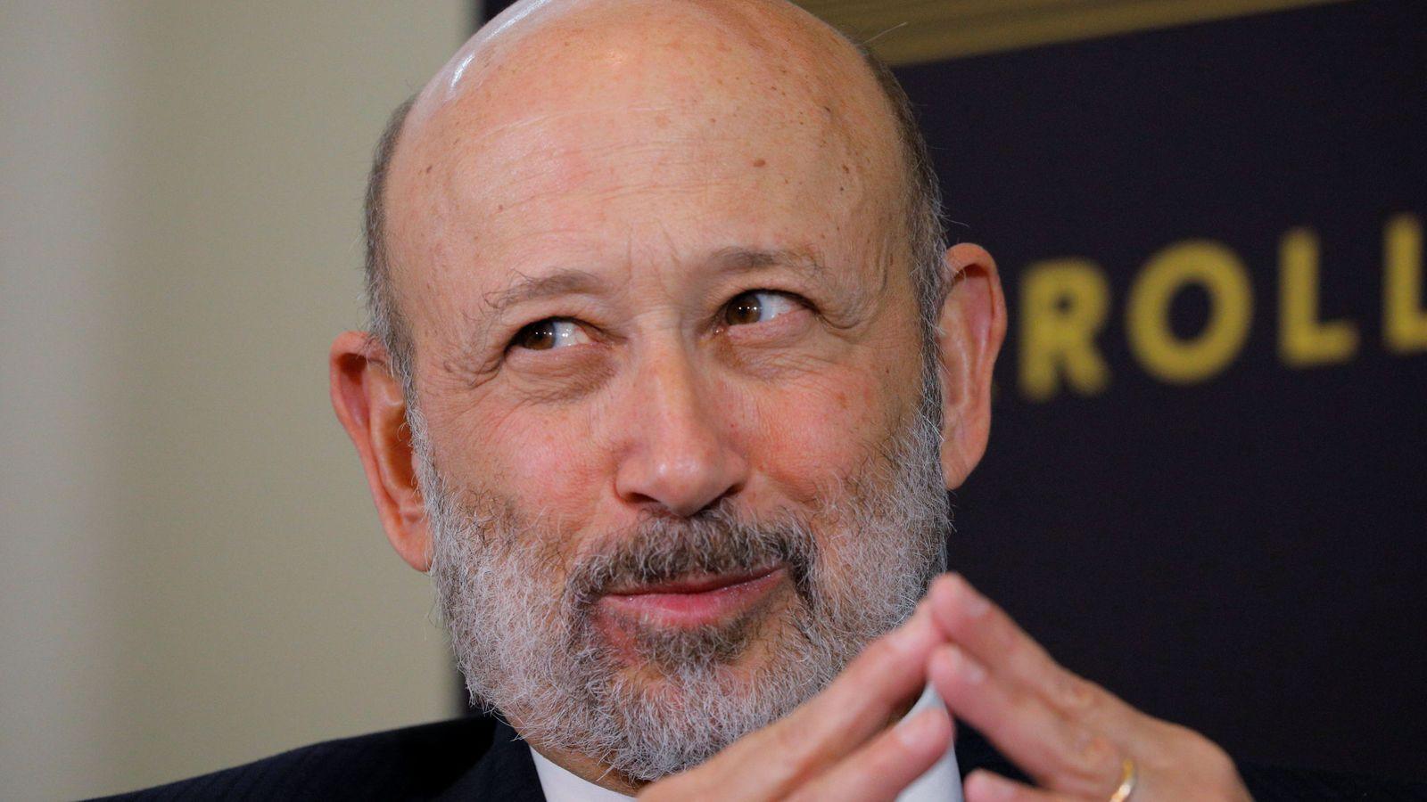 Foto: Lloyd Blankfein, CEO de Goldman Sachs, la firma que invirtió en la energía española. (B. Snyder/Reuters)