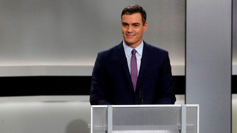 Foto: El candidato del PSOE, Pedro Sánchez, durante el debate del pasado lunes. (EFE)