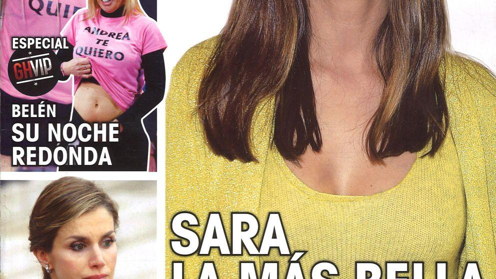 Las portadas del lunes: la puesta a punto de Sara Carbonero